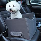 Petsfit Dog Lookout Car Booster Seat with Summer and Winter Liner, 15