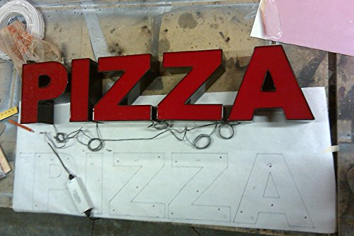 LED Channel Letters, 3D Storefront Signs (Artwork, Installation Template  and Power Supplies Included)