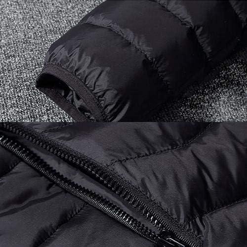 Veste chauffante /électrique Batterie 10000mAh pour Manteau Chauffant sans Fil Rechargeable en temp/érature pour lhiver en Plein air v/élo//Ski Moto//p/êche sur Glace//randonn/ée