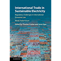 International Trade in Sustainable Electricity: Regulatory Challenges in International Economic Law (English Edition)