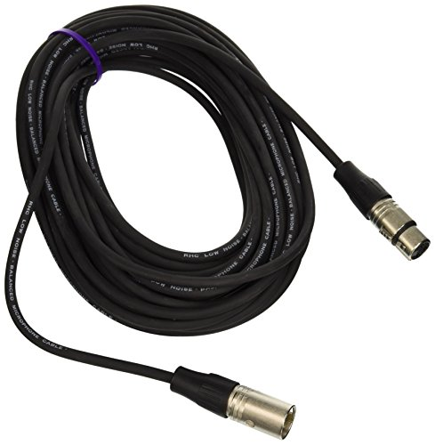 - Rapco Horizon N1M1-50 Stage Series M1 Microphone Cable Neutrik Connectors 50-Feet