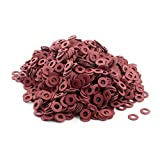 2500pcs M6 Insulating Fiber Washer Spacer 6mmx12mmx1mm for Motherboard