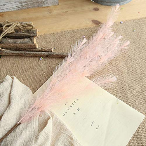 Simulation Plush Grass Artificial Feather Grass For Wedding Party Home Room