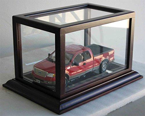Hot Wheels Toy Car Diecast Vehicle Model Car Display Case Stand, HW02 (Mahogany ()