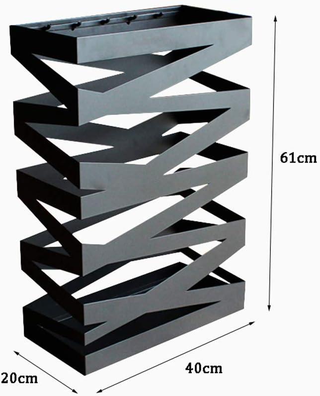 40X20x61cm SCKL Parag/üero Rectangular Paraguas Moderno Rack Decoraci/ón Casera Moderna Puerta De Entrada Independiente Paraguas del Sostenedor del Estante