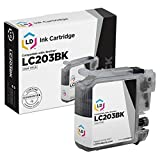 LD Compatible Ink Cartridge Replacement for Brother LC203BK High Yield (Black)
