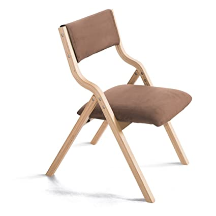 Amazon.com: LPZ-STOOL Solid Wood Padded Dining Chair with ...