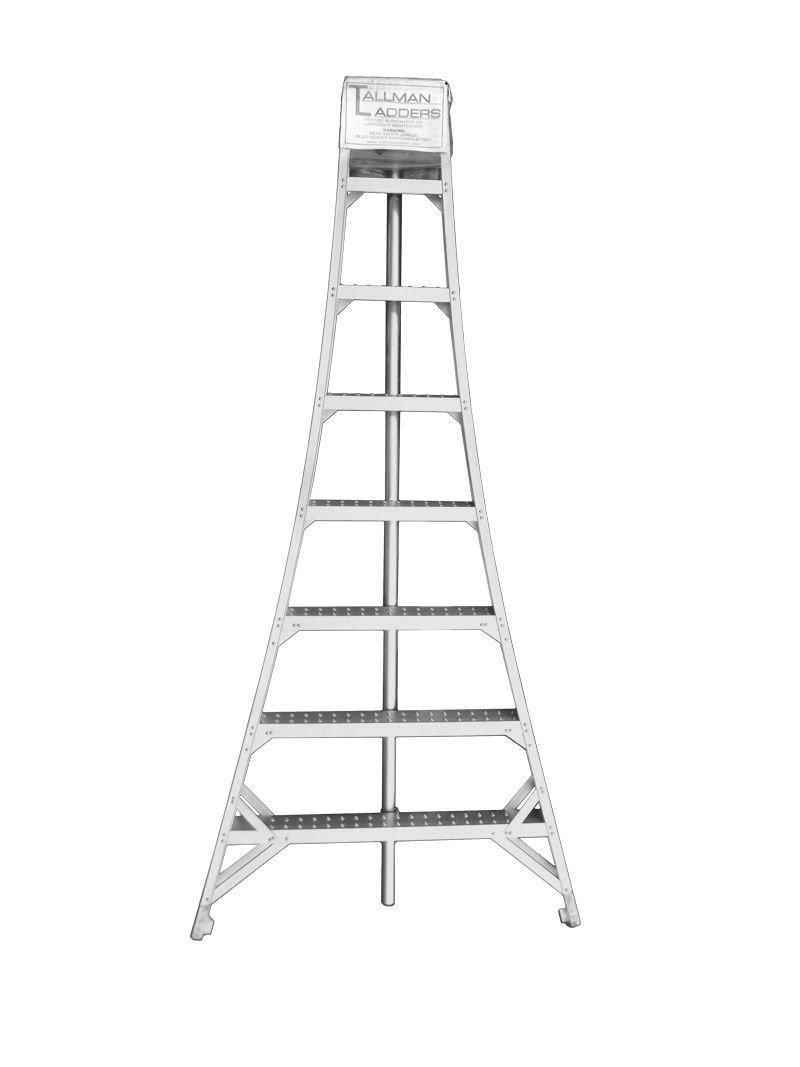 Tallman Ladders - 12' Tripod Orchard Ladder