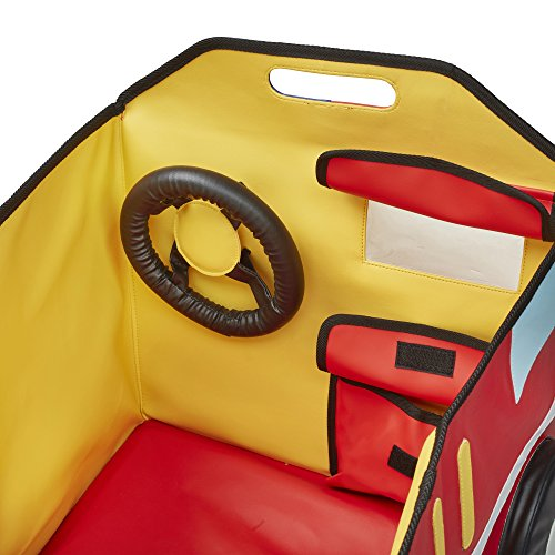 ECR4Kids SoftZoneMy Safe Space Toy Fire Truck for Kids