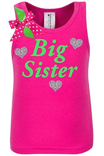 Bubblegum Divas Little Girls' Big Sister - Polka Dot Tank Top Shirt Shopping Results