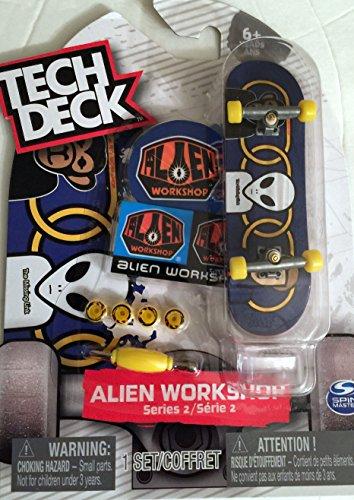 h Desk Series 2 Alien Workshop Finger Skateboard 96mm Board with Stand ()