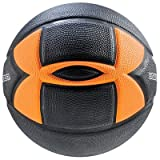Under Armour 295 Spongetech Basketball, Black/Orange, Official/Size 7