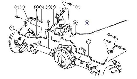 Amazon Com Chrysler Brake Line 52128074ab Automotive