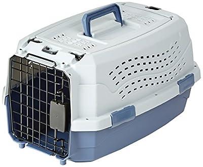 AmazonBasics Two-Door Top-Load Pet Kennel from AmazonBasics