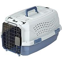 AmazonBasics 19-Inch Two-Door Top-Load Pet Kennel