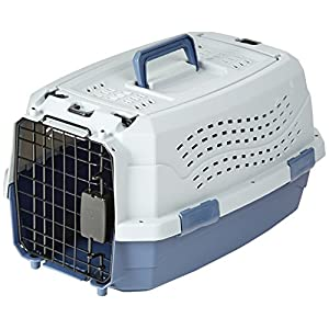 AmazonBasics Two Door Top Load Pet Carrier (19-inch)