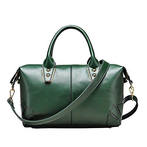 GWQGZ Vert Green À De Simple Américain Sac Mode Et Dames Satchel Vent Européen Sac De De À Bandoulière Main rq8xwrTUg