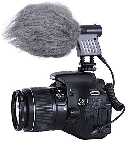 Movo VXR1000 - Micrófono Condensador de Escopeta HD para cámaras ...