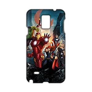 Angl 3D Case Cover The Avengers Phone Case for Samsung Galaxy Note4