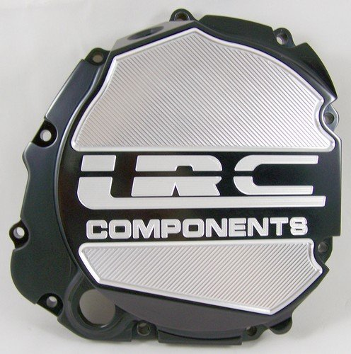 Yana Shiki A3660ABLRC Black Solid Flat style with LRC Engraved Clutch Cover for Suzuki GSX-R 600/750/1000