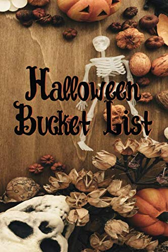 Halloween Bucket List (Halloween Planner)