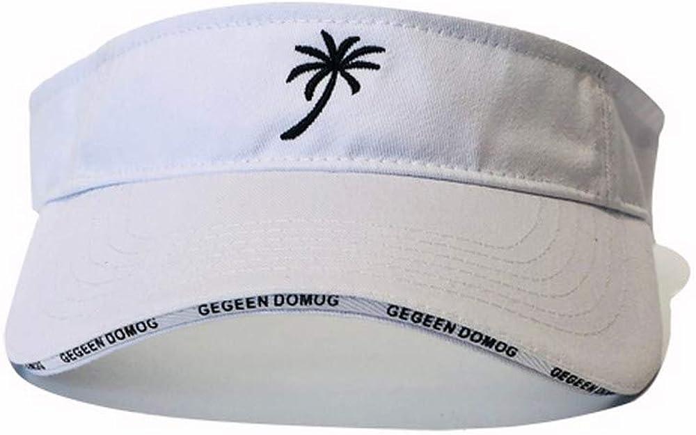 Croogo Embroidered Visor Dad Hat Men Women Sport Sun Visor