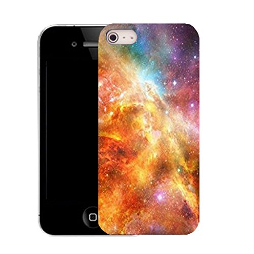 Mobile Case Mate IPhone 4 clip on Silicone Coque couverture case cover Pare-chocs + STYLET - interstellar space pattern (SILICON)