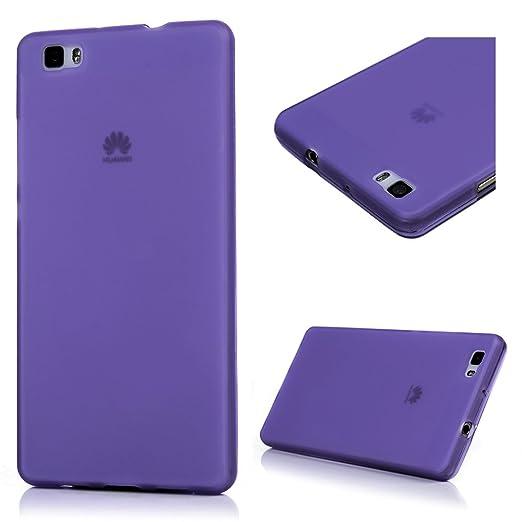 25 opinioni per Huawei P8 Lite Custodia Cover- Lanveni Copertura Morbido TPU Silicone Ultra