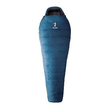 Zajo Saco de dormir momia saco de dormir Venture Regular Max. De 9 °C, YKK Duraflex: Amazon.es: Deportes y aire libre