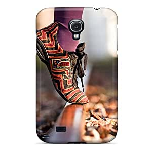 AaPt3300 In Shoes Fashion Tpu S4 Case Cover For Galaxy