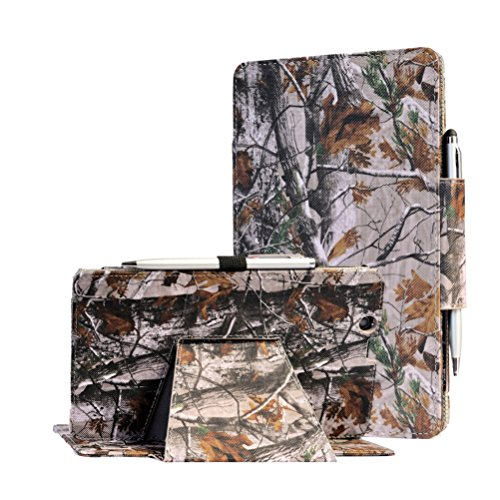Nextbook Ares 8A case, i-UniK CASE for E FUN Nextbook Ares 8 (NXA8QC116) & Ares 8A (NX16A8116K) Touchscreen Tablet with Bonus Stylus (Hunting Tree Camo)