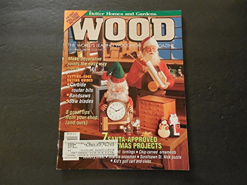 Better Homes and Gardens Wood Dec 1994 How Not To Cut Your Fingers Off
