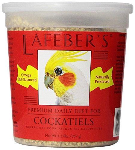 - Lafeber Company Cockatiel Pellets Premium Daily Diet Pet Food, 1.25-Pound