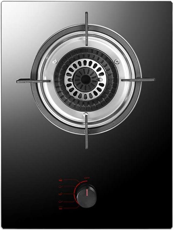 Placa De Gas De Un Solo Quemador Cocina De Gas Incorporada Con Protección Contra Fallas De Llama Vidrio Templado Cocina De Gas Cocina Para Camping/Apartamento/Cocina