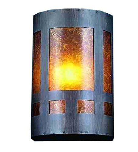 Mica Tiffany Sconce (Meyda Tiffany 23956 Van Erp Mica Wall Sconce, 5
