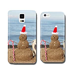Christmas vacation by the sea cell phone cover case iPhone5