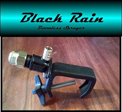 Black Rain Boomless Sprayer Nozzle for UTV Spot (Boomless Atv Sprayer)