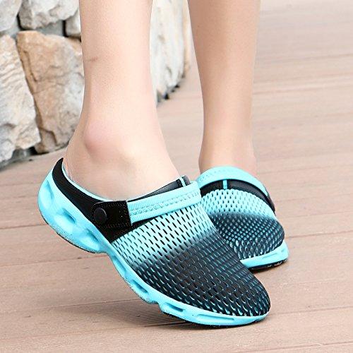 Qingchunhuangtang@ Sommer Sandalen Hälfte Hausschuhe Strand Höhle Schuhe Baotou Hausschuhe Hausschuhe Hausschuhe edbc83