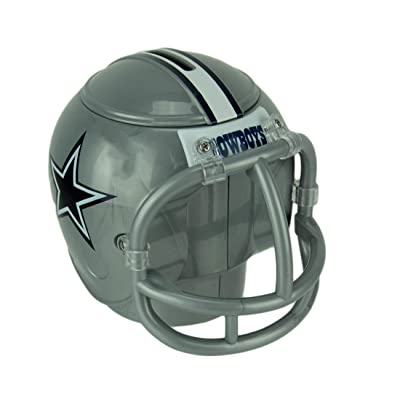 Marketing Results NFL Dallas Cowboys Mini Helmet Coin Bank: Toys & Games