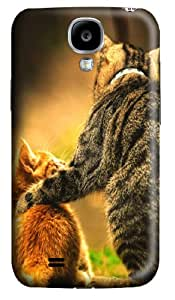 Father Cat Custom Samsung Galaxy S4 I9500 Case Cover ¨C Polycarbonate