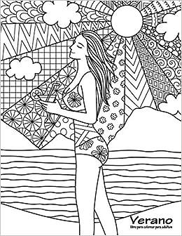 Verano Libro Para Colorear Para Adultos 1 Volume 1