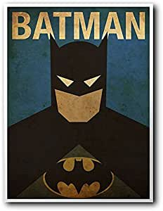 Placa Decorativa MDF Ambientes 30 cm x 20 cm - Batman (BD02)