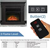 Top Space Electric Fireplace Insert CSA Certified