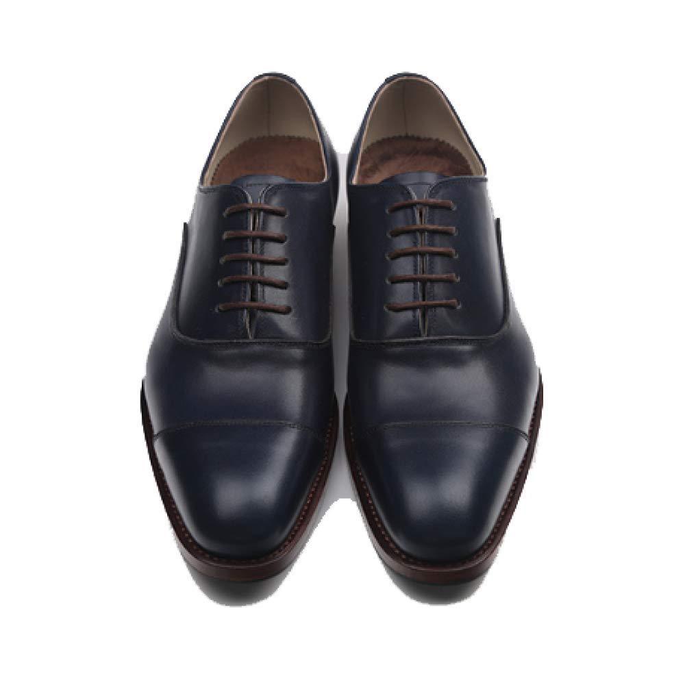 Herbst England Männer Business Spitzte RoyalBlau Handgemachtes Bequemes  Breathable Wearable RoyalBlau Spitzte 5a5c51 9ff4e1ffde