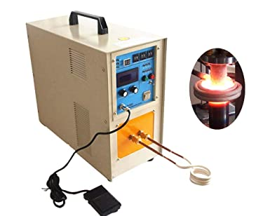 KUNHEWUHUA 15KW High Frequency Induction Furnace Gold Silver ...