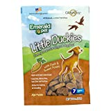 Emerald Pet - Little Duckies, Duck & Sweet Potato Dog Treats, All Natural, High Protein, Grain Free, Gluten Free, Soy Free, Dairy Free, Perfect for Healthy Training of Your Canine (5 oz)