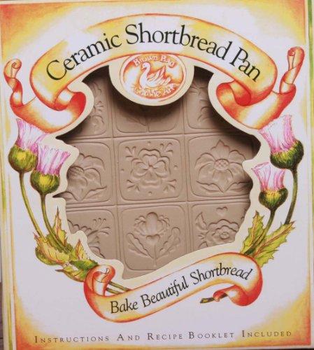 Brown Bag Design Alpine Flower Shortbread Cookie Pan, 11-Inch by ()