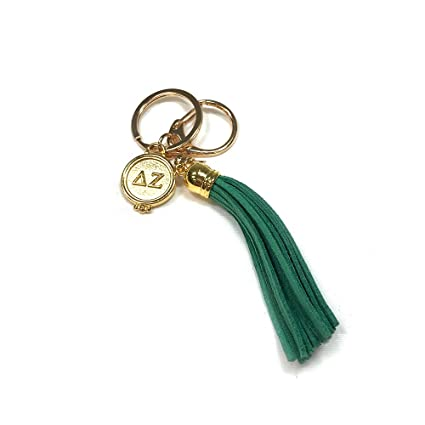 Amazon.com   Delta Zeta Sorority Fringe Tassel Keychain with Letters Key  Attachment dz   Office Products eedaa5862
