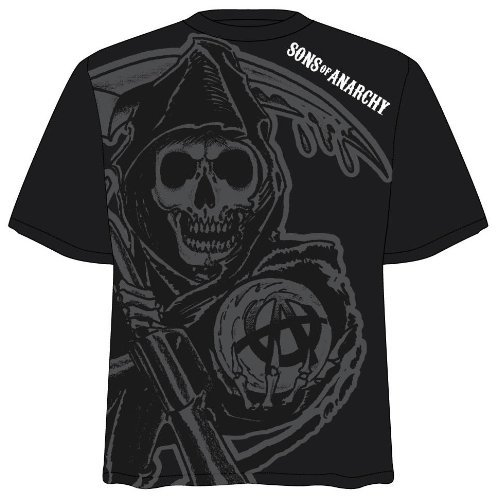 Sons of Anarchy SOA Subliminal Reaper Toddler T-Shirt (Medium)