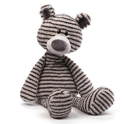 """GUND Zag Teddy Bear Stuffed Animal Plush, 13"""""""